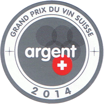 Grand prix de vin suisse : médaille d'argent 2014